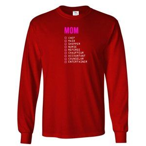 Men's MOM T-Shirt Long Sleeve
